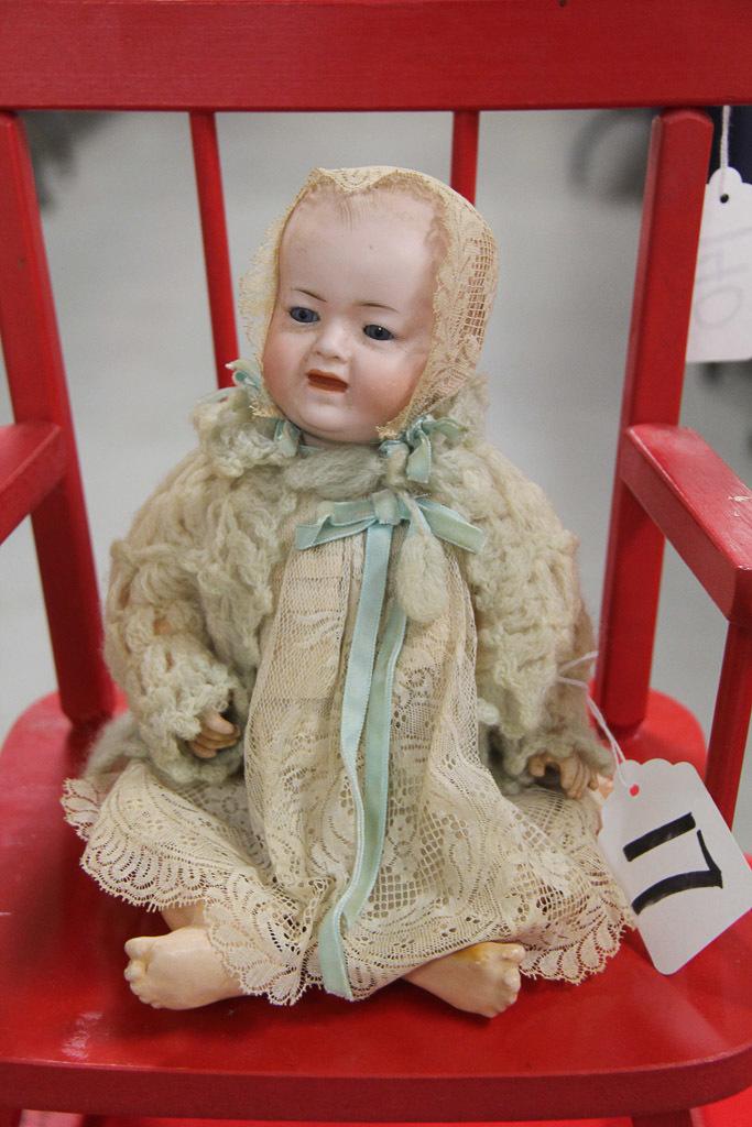 """11"""" German Bisque Kley Hahn Baby Character"""