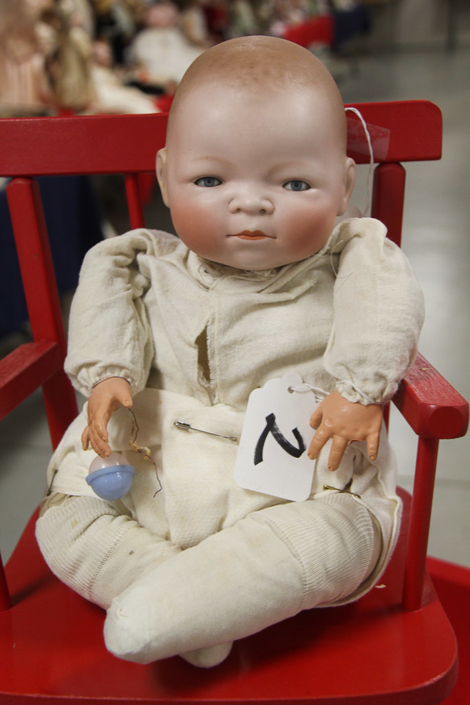 """16"""" German Bisque Bye-lo Baby Doll Damaged"""
