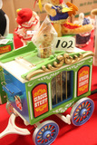 German Steiff Circus Wagon with Giraffe