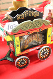 German Steiff Circus Wagon with Tiger