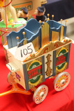 German Steiff Circus Wagon with Music