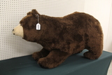 Life Size Riding Brown Bear