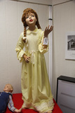 Young Girl in Yellow Dress Mannequin,