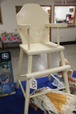 White Painted Doll High Chair, LOCAL PICK UP