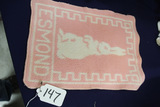 Antique Bunny Blanket