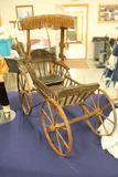 Wood Wheel Doll Buggy, LOCAK PICK UP ONLY