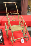 Antique Bentwood Doll Stroller