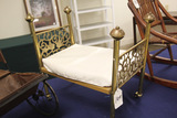 Brass Doll Bed