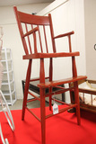 Red Painted Youth Chair