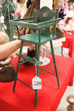 Painted Doll High Chair