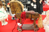 Wooden Wheel Horse LOCAL PICK UP ONLY