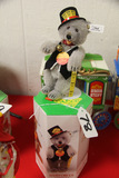 German Steiff  Teddy Baby Ticket Seller with Box