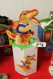 German Steiff  Fire Eater with Box