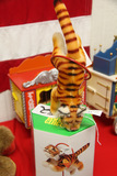German Steiff Jumping Tiger with Box