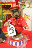 German Steiff Band Leader Bear