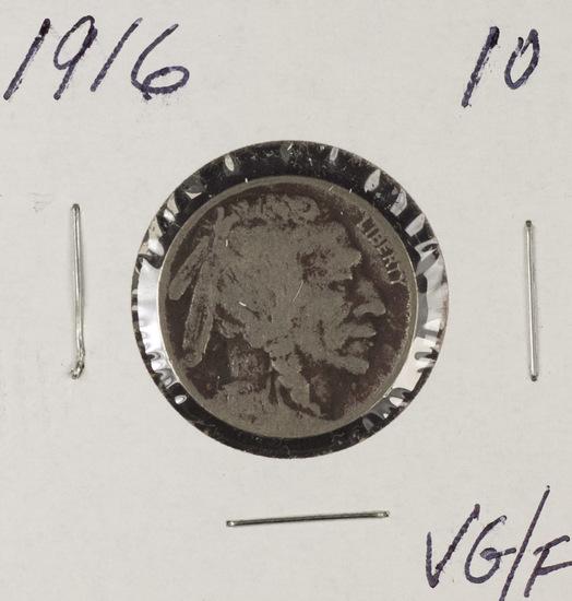 1916 - BUFFALO NICKEL - VG/F