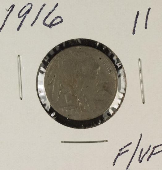 1916-S BUFFALO NICKEL - F/VF