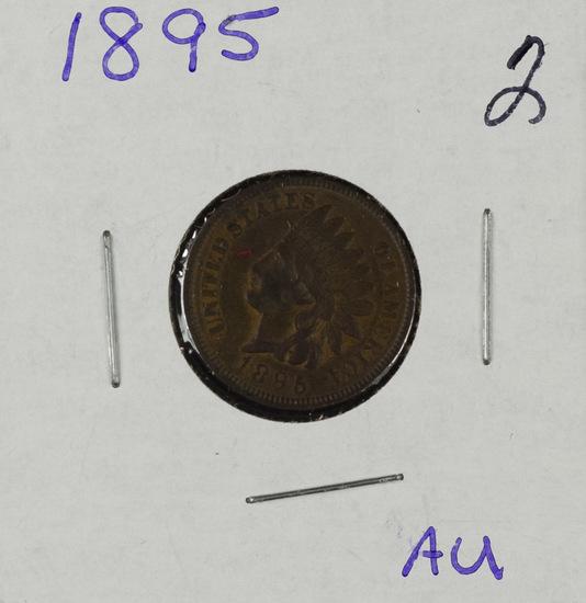 1895 - INDIAN HEAD CENT - AU