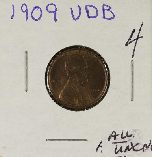 1909 - VDB LINCOLN CENT - AU/UNC