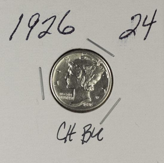 1926 - MERCURY DIME - BU