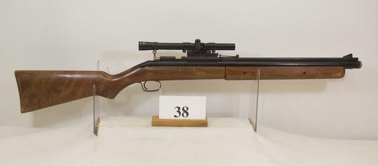 Sheridan Air Rifle, 5 mm cal, 4 x Scope