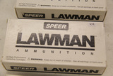 1 Box of 50, Speer Lawman, 9 mm Luger 115 gr