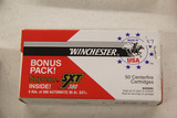 1 Box of 55, Winchester Supreme SXT 380 95 gr