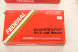 1 Box of 20, Federal 30-06 Springfield 180 gr SP