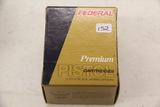 1 Box of 25, Federal Premium 38 Special (+P)