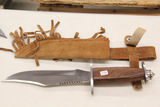 Sheath Knife with Sheath, New