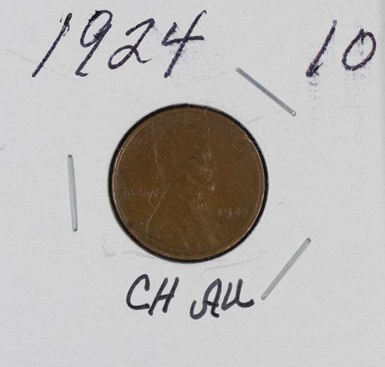 1924 - LINCOLN CENT - AU
