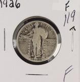 1926 - STANDING LIBERTY QUARTER - F