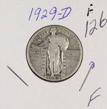 1929-D STANDING LIBERTY QUARTER - F
