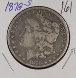 1878-S MORGAN DOLLAR - VF