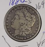 1880-S MORGAN DOLLAR - VF