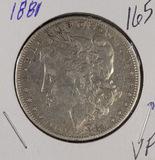 1881-MORGAN DOLLAR - VF
