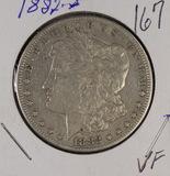 1882-S ORGAN DOLLAR - VF