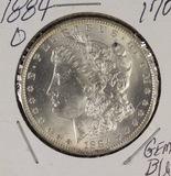 1884-O MORGAN DOLLAR - GEM BU