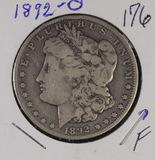 1892-O MORGAN DOLLAR - F