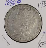 1896-O MORGAN DOLLAR - XF