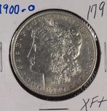 1900-O MORGAN DOLLAR - XF+