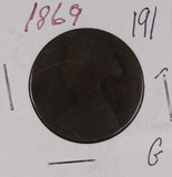 1869 - GREAT BRITAIN - PENNY - G