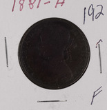 1881-H GREAT BRITAIN - PENNY - F