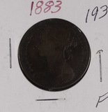1883 - GREAT BRITAIN - PENNY - F