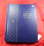 WHITMAN BOOKSHELF ALBUM - MORGAN DOLLARS 1897-1921 - NO COINS