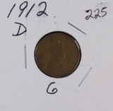 1912-D LINCOLN CENT - G