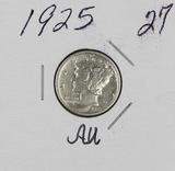 1925 - MERCURY DIME - AU