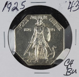 1925 - NORSE AMERICAN MEDAL - THICK PLANCHET - CH BU