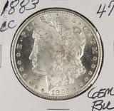 1883-CC MORGAN DOLLAR - GEM BU