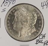 1890-S MORGAN DOLLAR - CH BU PROOF LIKE